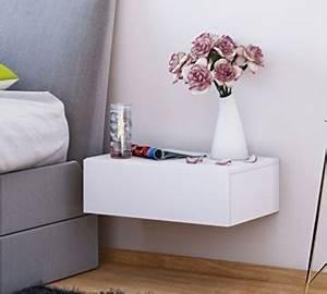 Nachttisch Hängend Ikea : nachttisch klassisch modern holz eckig wei h ngend offen boxspringbett schlafzimmer ~ Markanthonyermac.com Haus und Dekorationen