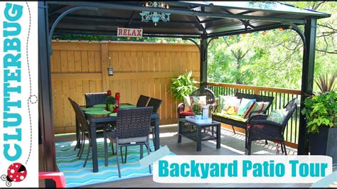 Decorating Ideas For Patios by Backyard Patio Decorating Ideas Tips And Tour