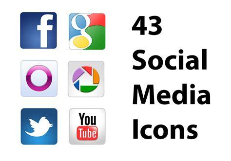 Free Social Media Icons Free Social Media Icons Psds