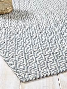 Teppich Wolle Grau : teppich rautenmuster reine wolle grau graublau 4 ideen rund ums haus in 2019 teppich ~ Watch28wear.com Haus und Dekorationen