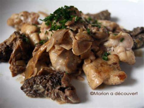 cuisiner les morilles recettes de ris de veau et veau 6