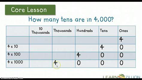 4 Nbt 1 Worksheets Go Math 4 Best Free Printable Worksheets