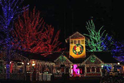 holiday lights  tree displays  atlanta