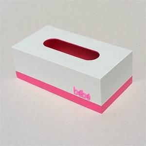 Boite Mouchoir Deco : boite mouchoirs b b gris et rose cotecadeaux ~ Melissatoandfro.com Idées de Décoration