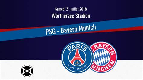 Match : PSG/Bayern, diffusion, commentateurs et ...