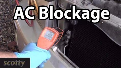 finding  fixing ac system blockages youtube