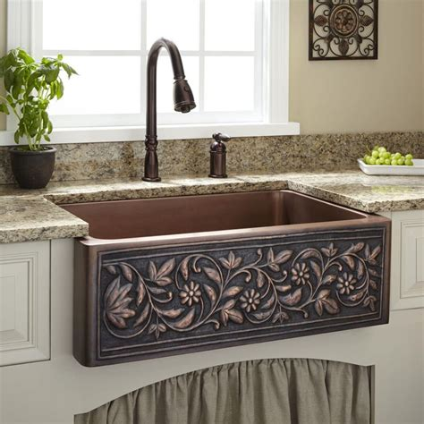 copper farmhouse kitchen sinks best 25 pedestal sink storage ideas on