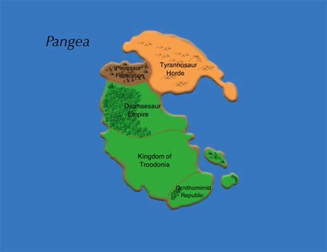 Pangea [Map] : worldbuilding