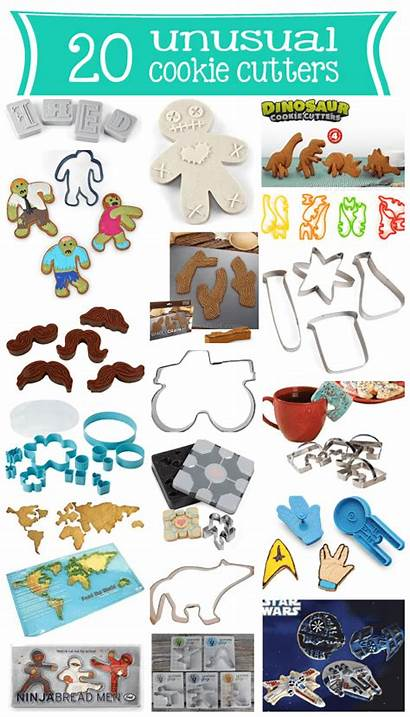 Cookie Cutters Cutter Unusual Unique Roundup Wednesday