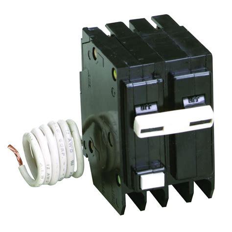 eaton br 30 2 pole self test ground fault circuit breaker gftcb230cs the home depot