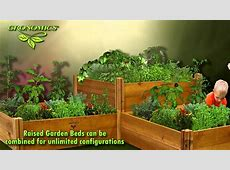 GRONOMICS® Modular Raised Garden Beds YouTube