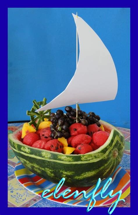 Where The Wild Things Are Fruit Boat by 25 Best Ideas About Watermelon Boat On Pinterest