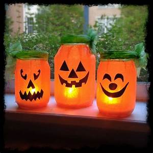 Halloween Deko Basteln : 44 diy ideen mit einmachgl sern welche die kreativit t in ~ Lizthompson.info Haus und Dekorationen