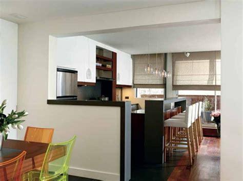 cuisine ouverte refermable cuisine ouverte avec un muret 2 ideeco
