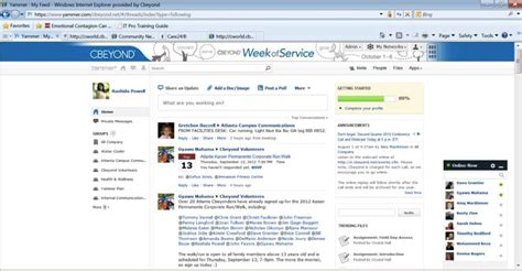Social Storytelling: Cbeyond's 31 Days of Yammer | Anne ...