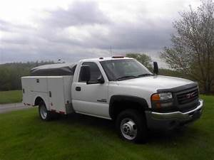 Find Used 2007 Gmc 3500 Utiltiy Truck With 6 6 Diesel