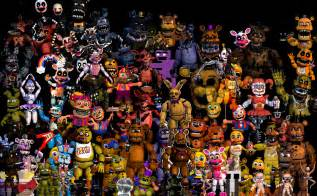 photography props fnaf thank you all characters preview 2 by kauangam3rpr0