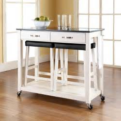 Movable Kitchen Island Seating