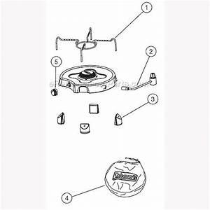 Coleman 2000004125 Parts List And Diagram