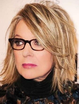 Hairstyles For 50s With Glasses by 30 Best Medium Length Hairstyles For 50 With Glasses