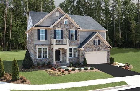 Colonial Home by Colonial Forge Single Family Homes Stafford Va