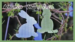 Osterdeko Selber Nähen : diy osterdeko fr hlingsdeko selber machen oster hasen aus stoff und vlieseline youtube ~ Watch28wear.com Haus und Dekorationen