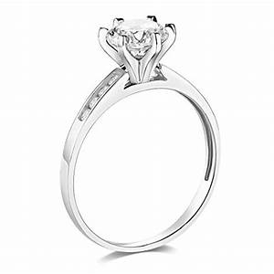 14k yellow or white gold solid wedding engagement ring With wedding rings abu dhabi