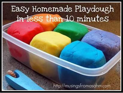 Easy Homemade Playdough Recipe Mom Play Doh