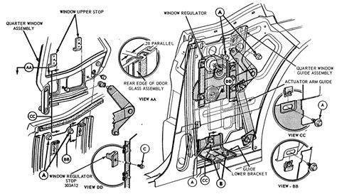 67 Mustang Coupe Window Diagram pin by jake myers on 1965 mustang 1965 mustang mustang