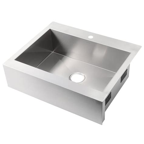 1 basin kitchen sink kohler vault farmhouse apron front stainless steel 30 in
