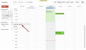 create a shared google calendar for your organisation g With google docs shared calendar
