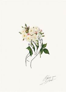 HOLDING FLOWERS | Flowers, Illustrations and Wallpaper