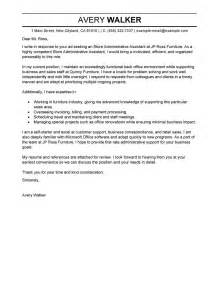 sample cover letters for administrative assistants