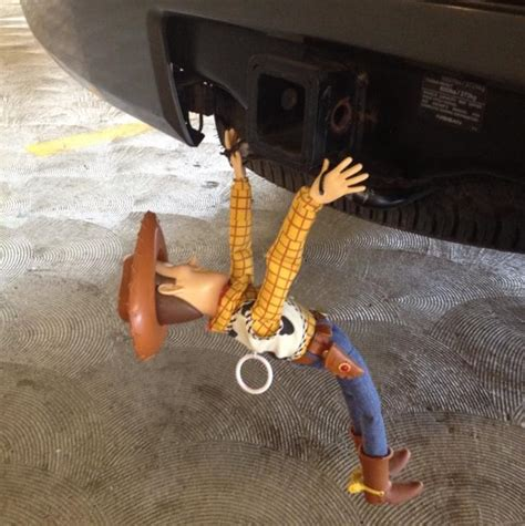 fredo pointed   woody doll hanging