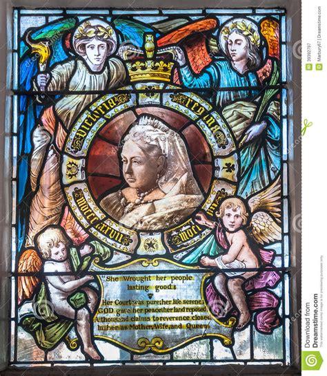 queen victoria glass stock image image  historic