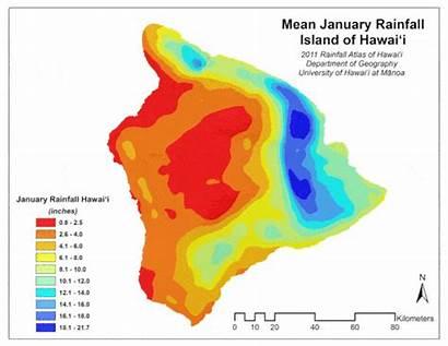 Island Weather Climate Rainfall Hawaii Month Rain
