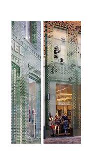 Glass Bricks Stronger Than Concrete Replace The Facade Of ...