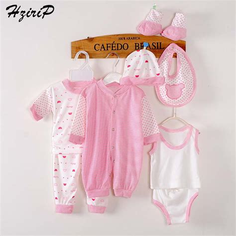 Infant Clothes by 8 Pieces Baby Gift Set Newborn Clothes Unisex Baby
