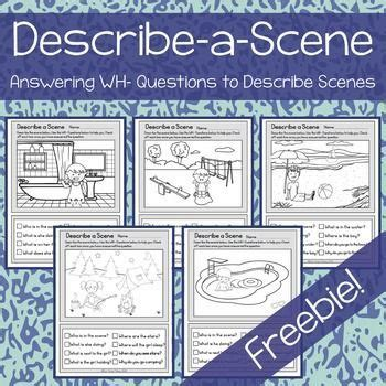 this is a free product for practicing answering wh