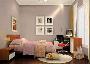 Simple bedroom decoration