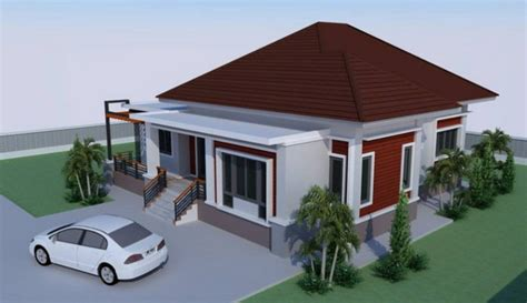 bedroom house design   sqm floor area pinoy eplans