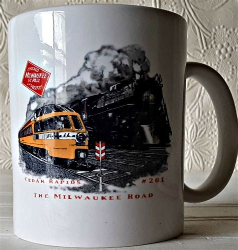 See unbiased reviews of coffee cup, rated 3 of 5 on tripadvisor and ranked #14 of 15 restaurants in st. The MILWAUKEE Road Railway Coffee Mug Chicago St Paul Pacific Railroad (With images) | Milwaukee ...