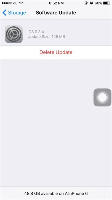 undo iphone update how to remove a downloaded software update from iphone or