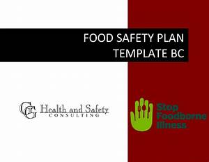 Food Safety Plan Template Bc I Vancouver Surrey Burnaby