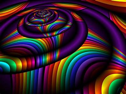 Colorful Digital Abstract 3d Colors Rainbow Mobile