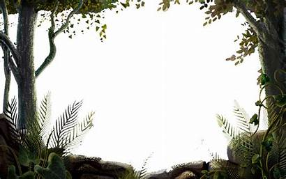 Nature Transparent Background Clipart Frames Forest Tree