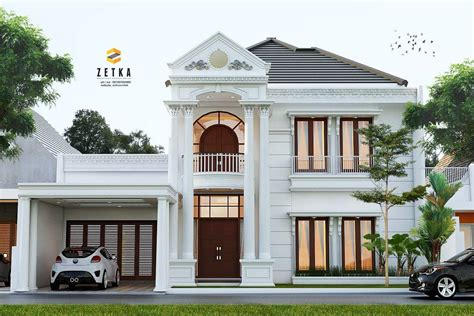 rumah modern cantik inspirasi desain rumah modern page