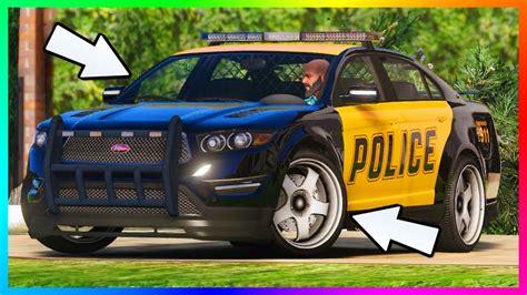 Secret Gta 5 Police/cop Car Customization & Hidden