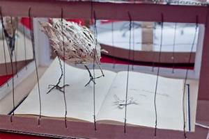 Mysterious book sculpture pays tribute to the late Iain ...