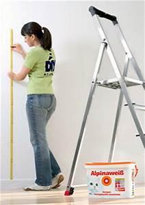Wandfarbe Berechnen : die richtige menge wandfarbe kaufen bauen renovieren news f r heimwerker ~ Themetempest.com Abrechnung